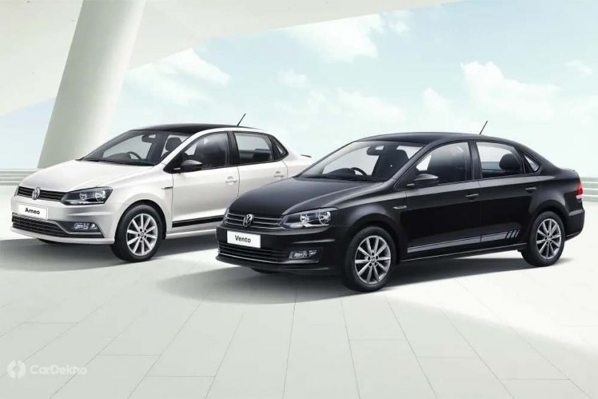 Volkswagen Polo, Ameo, Vento Black & White Edition Launched