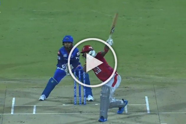 IPL 2019, RR Vs MI: Single-Handed KL Rahul Shows His Prowess, Hits Sandeep Lamichhane For A Six – WATCH