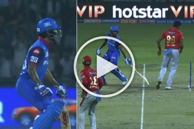 IPL 2019, DC Vs KXIP: Ravichandran Ashwin Tries To Mankad Shikhar Dhawan, Here's What He Gets In Response – WATCH