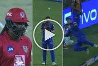 IPL 2019, DC Vs KXIP: Colin Ingram, Axar Patel Jugalbandi Ends Chris Gayle's Devastating Knock – VIDEO
