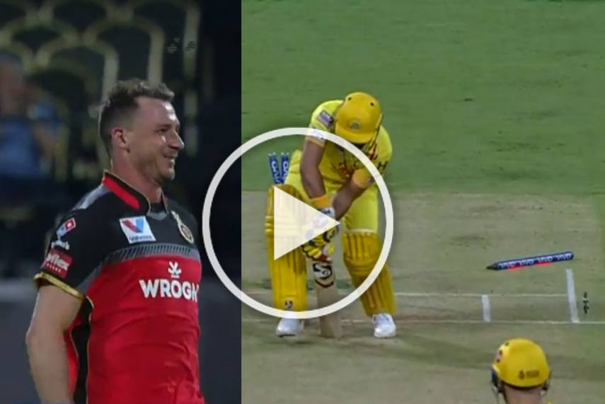 Watch Fiery Steyn Bamboozles Raina With An Unplayable Delivery Watch