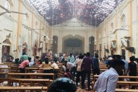 'Pieces Of Flesh Thrown All Over Sri Lankan Church After Blast'