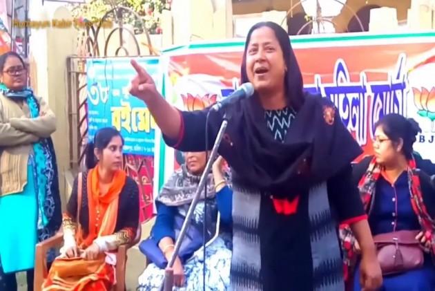 Mafuja Khatun: BJP's Muslim Face In West Bengal Eyeing Pranab Mukherjee's Turf