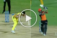 IPL 2019, CSK Vs SRH: Close Shave! Miraculous Escape For Deepak Chahar As Manish Pandey's Bullet Drive Sails Past His Head – WATCH
