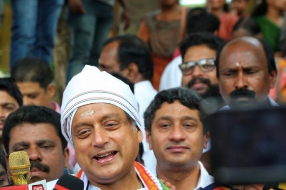 Shashi Tharoor Alleges EVM Rigging, Votes Going To 'Lotus'