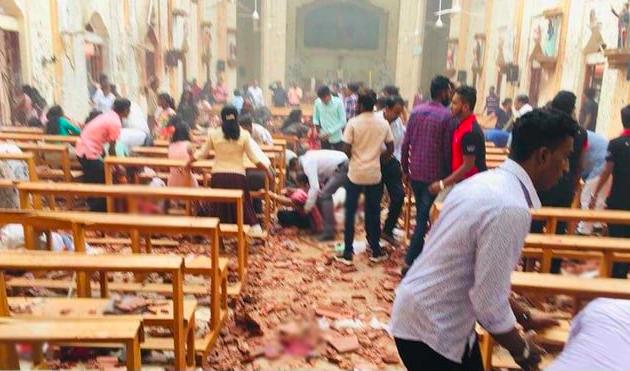 10 Indians Killed In Sri Lanka Terror Bombings