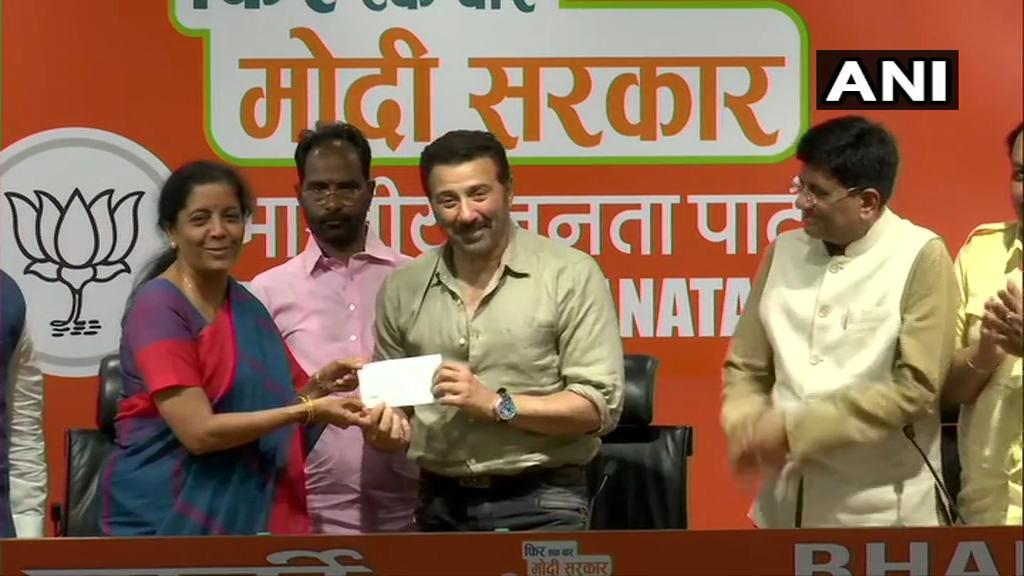 Lok Sabha Elections 2019: Bollywood Actor Sunny Deol Joins Bharatiya Janata Party