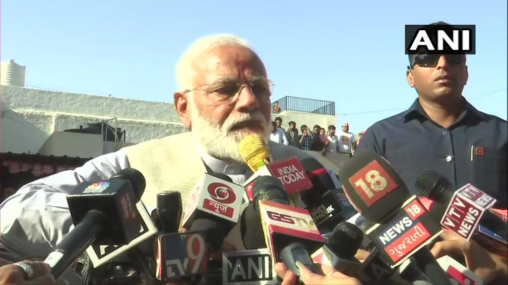 Lok Sabha Elections 2019: Voter ID Much More Powerful Than IED, Says PM Modi After Voting