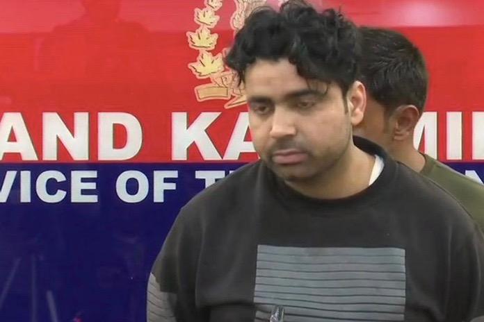 Pakistani LeT Terrorist Arrested In Kashmir