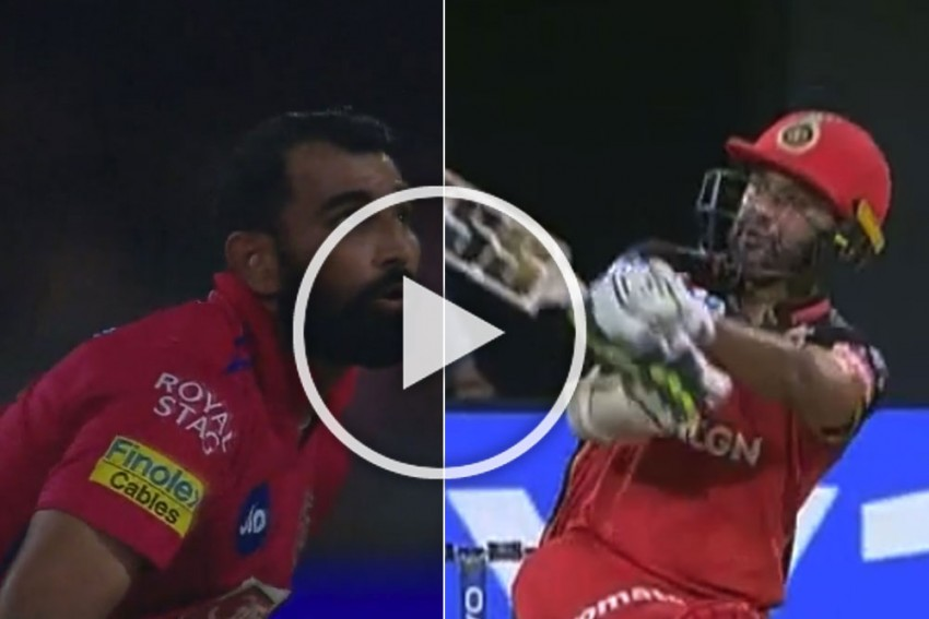 IPL 2019, RCB Vs KXIP: Little Big Man Parthiv Patel Punishes Mohammed Shami With Three Fours And Six In One Over – WATCH