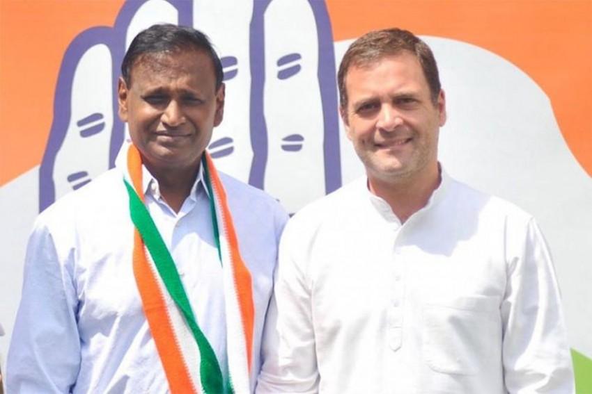 Denied Ticket By BJP, Udit Raj Joins Congress In Presence Of Rahul Gandhi