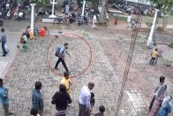 Watch: CCTV Footage Shows Suicide Bomber Entering Sri Lanka's St Sebastian Church Moments Before Blast
