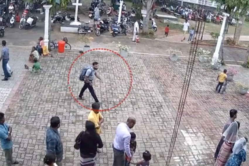 WATCH: CCTV Footage Of Suicide Bombers Entering Sri Lanka's St Sebastian Church, Shangri-La Hotel