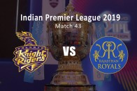 IPL 2019, Live Cricket Score, KKR Vs RR: Desperate Kolkata Knight Riders Host Rajasthan Royals In Must-Win Game
