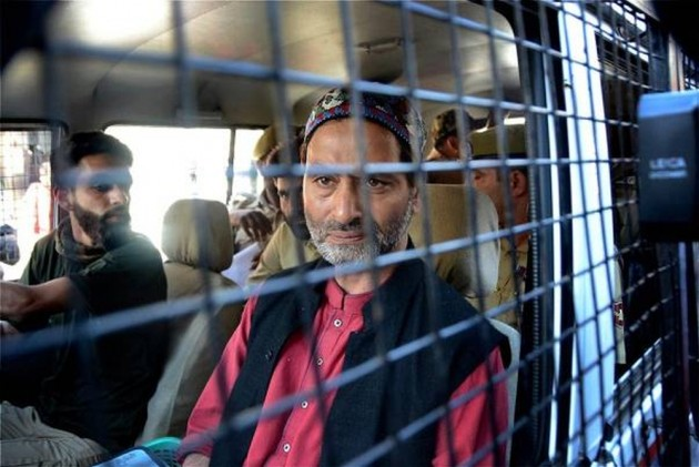 JKLF Chief Yasin Malik To Face Trial In Two 30-Year-Old Cases