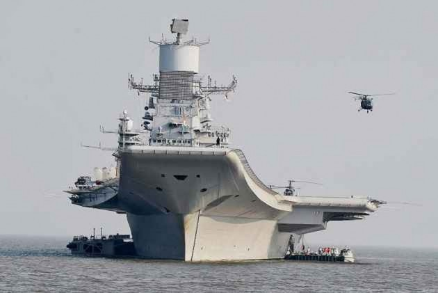 Naval Officer Dies Onboard After INS Vikramaditya Catches Fire
