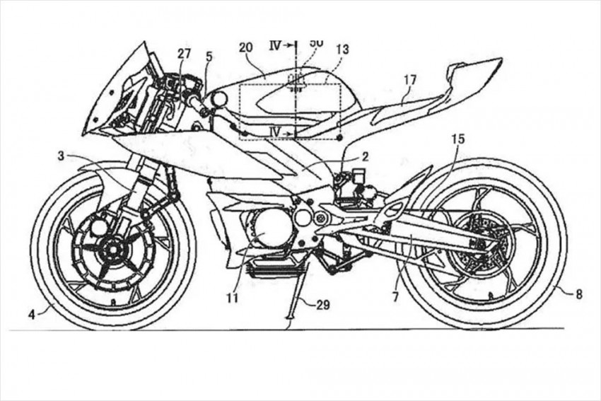 Yamaha's New Patent Images Hint At Multiple Upcoming Electric Bikes