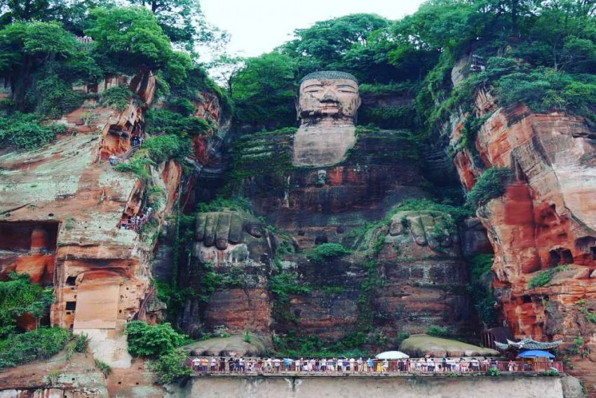 World's Largest Buddha Statue In China Measuring 71- Meter, Reopens To Tourists After Six Months