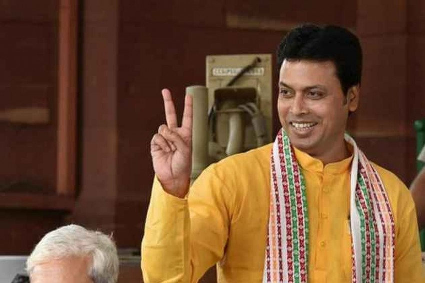 FB User Booked For Spreading Rumours About Biplab Kumar Deb's Divorce