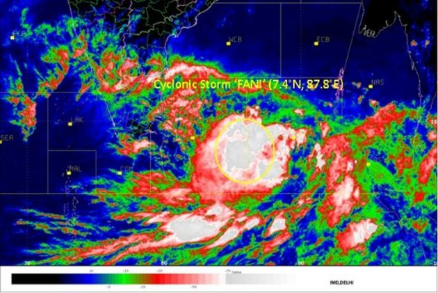 Cyclone 'Fani' Likely To Intensify Into 'Very Severe' Cyclonic Storm In Next 24 Hours: IMD