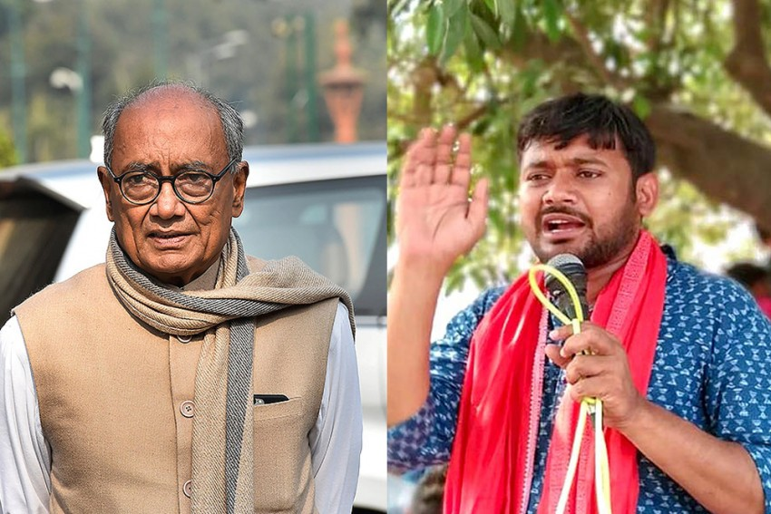 Kanhaiya Kumar To Campaign For Digvijaya Singh, Congress Leader Says He's An 'Admirer' Of CPI Candidate