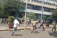 Angry Protests Outside Telangana CM's House Over Results 'Goof-up' As Students Suicides Toll Climbs To 23