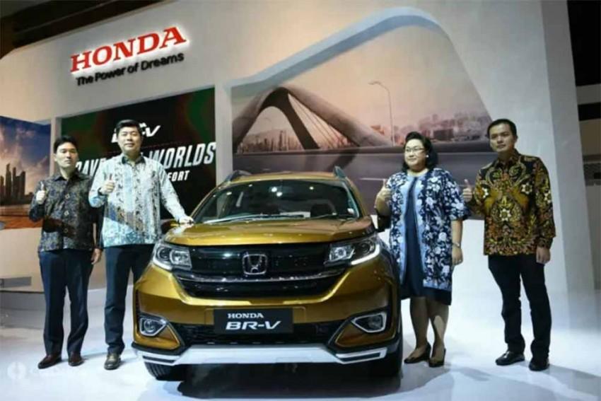 Honda Pulls Wraps Off BR-V Facelift