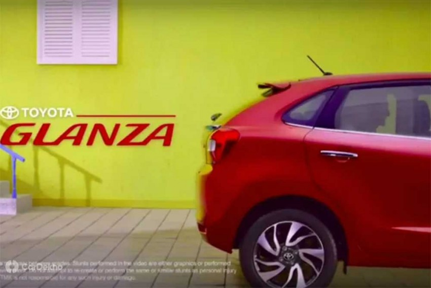 Toyota Glanza Teaser Draws Similarities With Maruti Baleno
