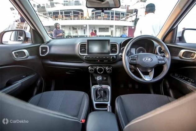 Hyundai Venue Interior: In Pics