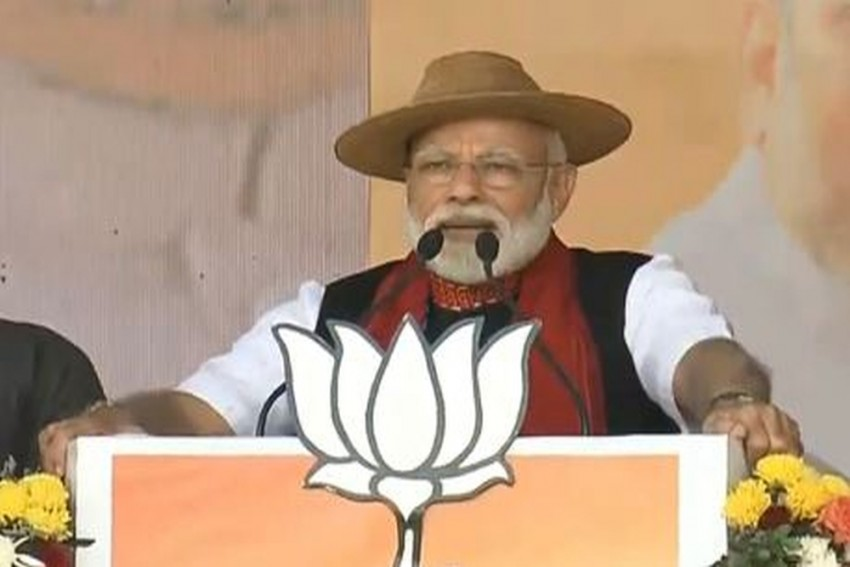 As PM Modi Addresses Rally In Pasighat, Congress Alleges Rs 1.80 Crore Cash-For-Vote Scandal In Arunachal
