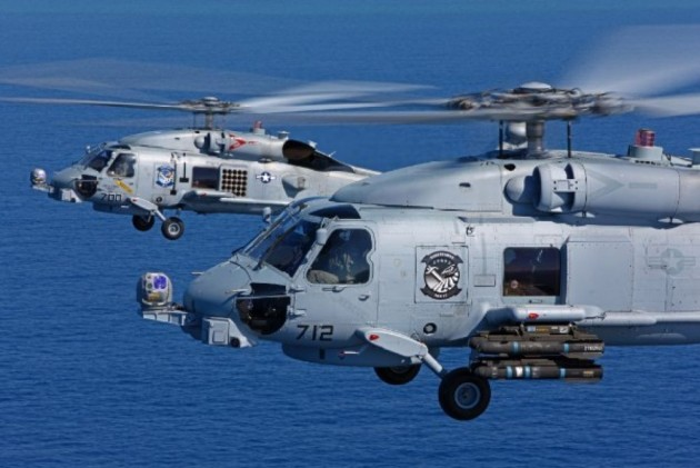 After Years Of Wait, India To Get 24 MH 60R Choppers From US To Replace Its Sea King Fleet