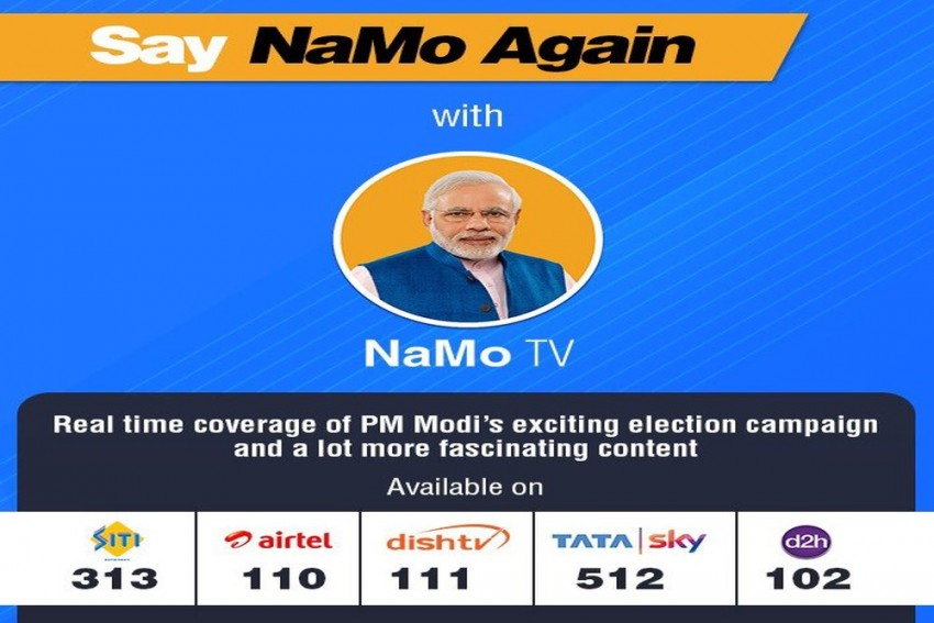 Election Commission Seeks Details Of NaMo TV From I&B Ministry Amid Allegations Of Poll Code Violation