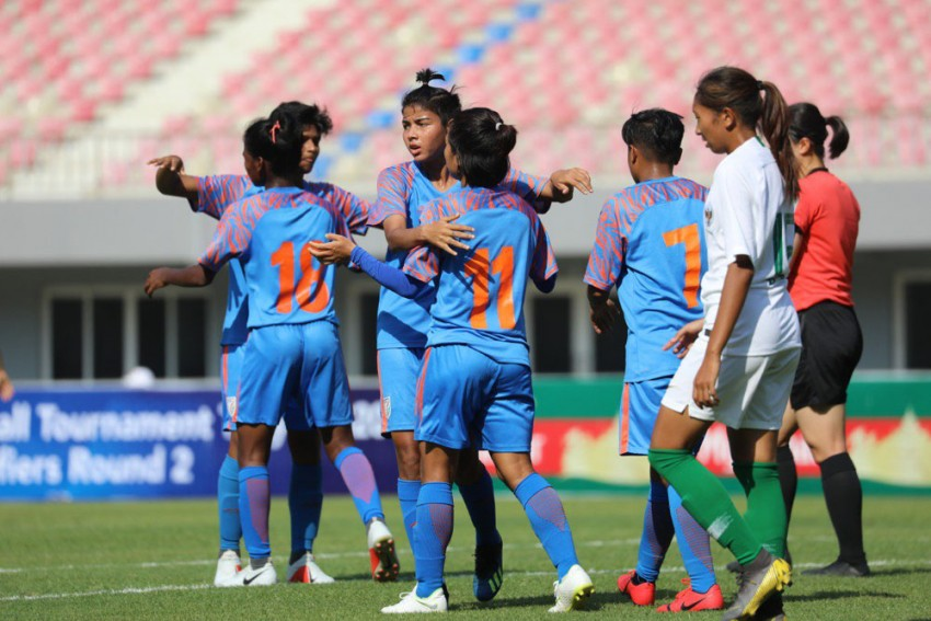 Olympic Qualifiers: Indian Women's Football Team Beats Indonesia 2-0