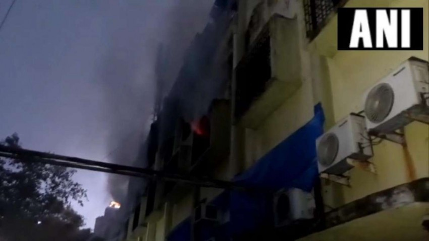 Mumbai: Fire Breaks Out At Cama Industrial Estate