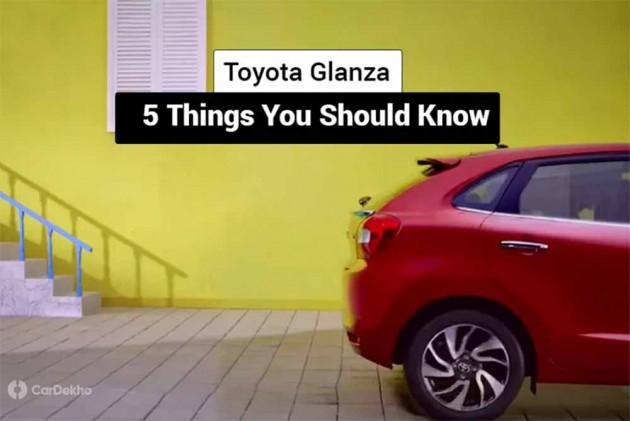 Baleno-Based Toyota Glanza: 5 Things You Should Know