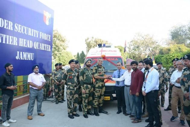 Pune-Based NGO Donates Ambulance To BSF In Jammu