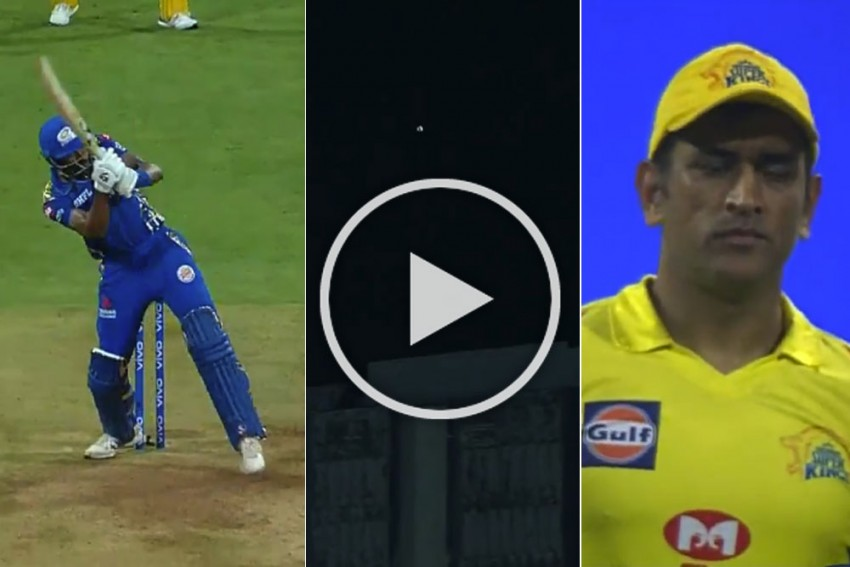 MUST WATCH: Hardik Pandya Executes 'Helicopter Shot' Perfectly In Front Of Inventor MS Dhoni