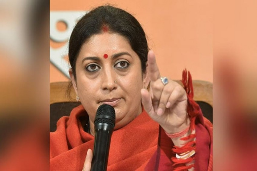 Rahul Gandhi's Decision To Contest From Wayanad 'Insult' To Amethi: Smriti Irani