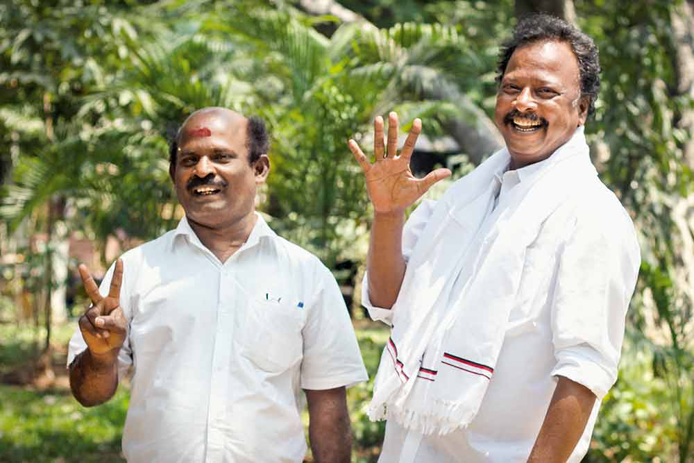 R. Ravikrishnan And T. Nandakumar: Foot Soldiers Of DMK and AIADMK Who Rose Through The Ranks