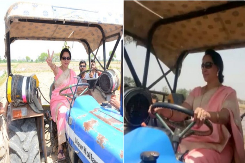 'Fancy Tractor', Omar Abdullah Trolls Hema Malini; She Hits Back Saying 'What's Wrong With It?'