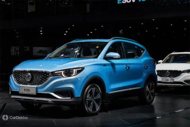 Mg Morris Garages Ezs Electric Suv To Launch In Late 2019 Will