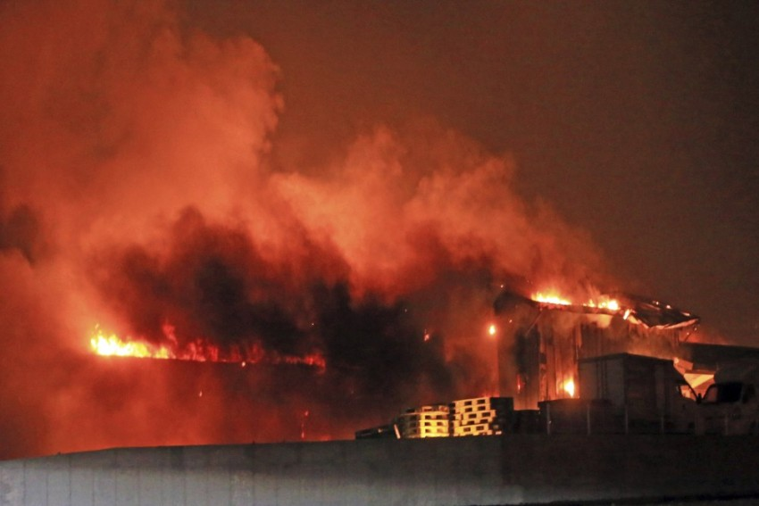 Seoul Declares National Disaster As Winds Fan Giant Forest Fire; Nearly 4,000 People Evacuated