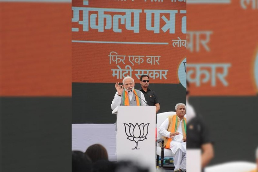 BJP Manifesto Is A Mix Of Hard Nationalism And Social Welfare