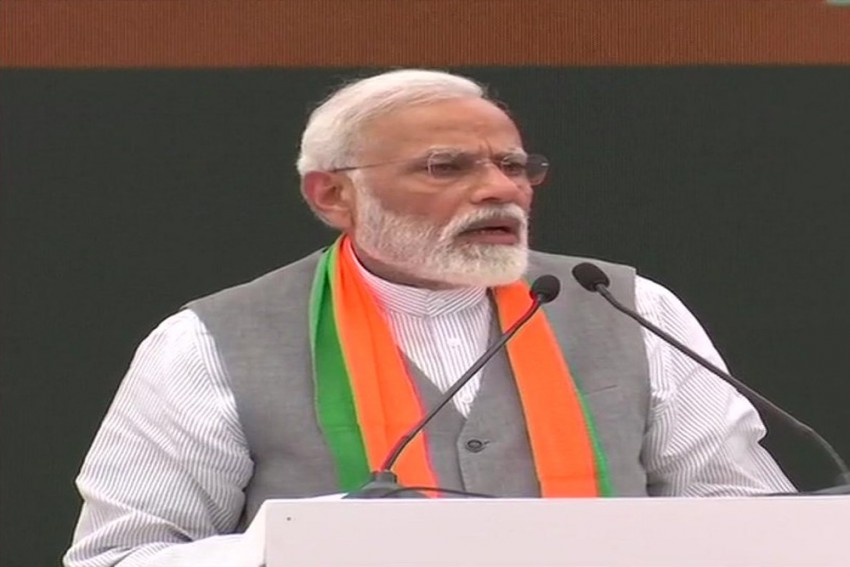 BJP Will Make India Developed By 2047: PM Modi At Manifesto Launch