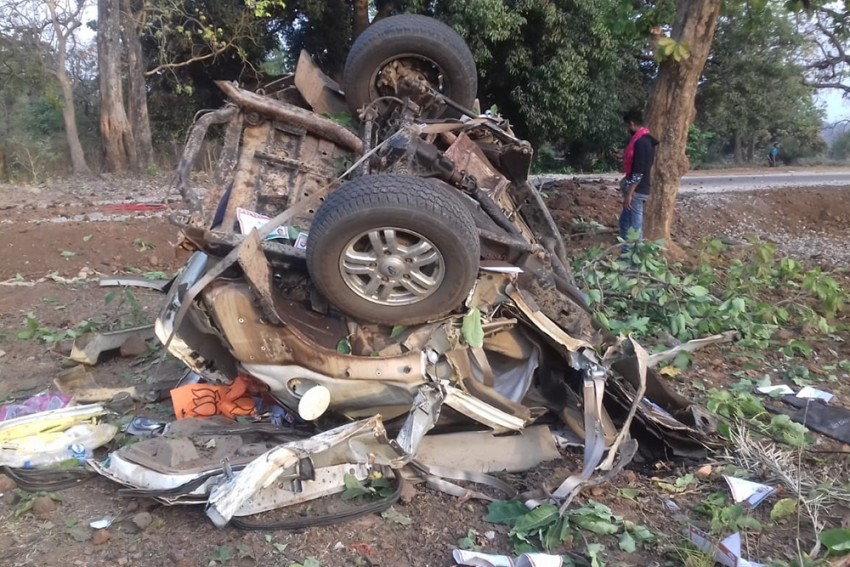 BJP MLA Bhima Mandavi, 4 Others Killed In Maoist Attack In Dantewada