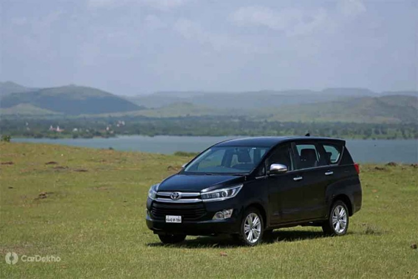 2019 Toyota Innova Crysta Updated With New Features; Prices Hiked