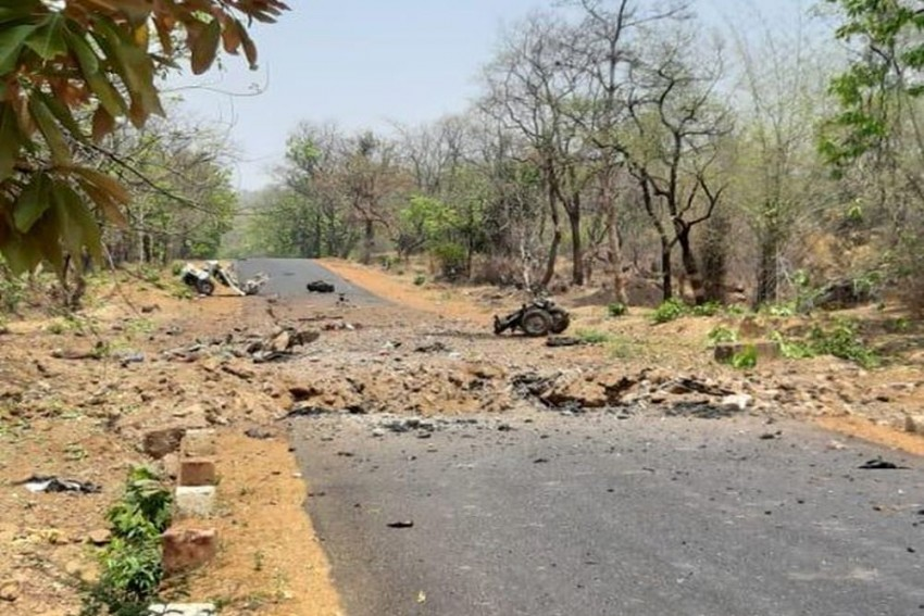 15 Security Personnel, Driver Killed In IED Blast By Maoists In Maharashtra's Gadchiroli