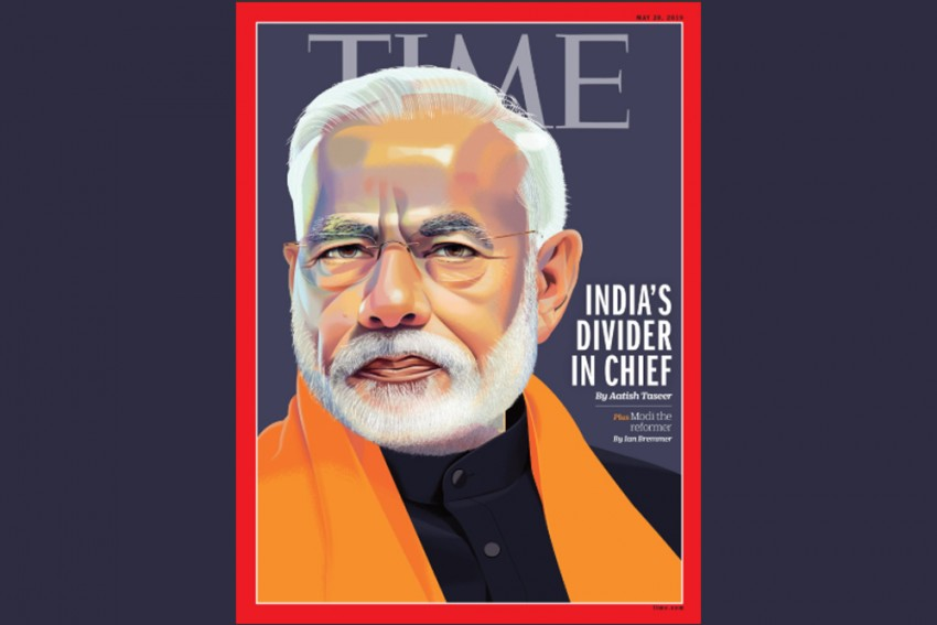 'India's Divider in Chief': PM Modi On Time Magazine Cover With Controversial Headline