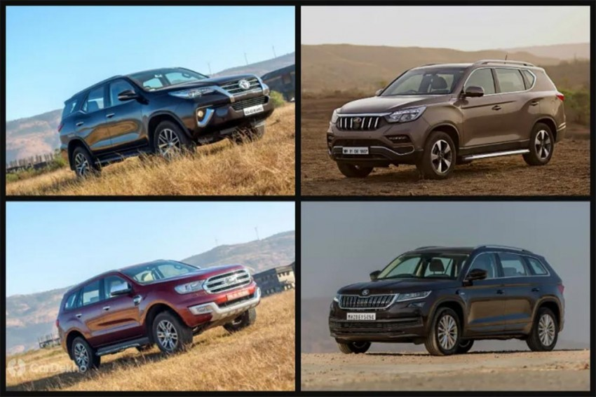 Cars In Demand: Toyota Fortuner, Ford Endeavour Most Popular SUVs In Segment
