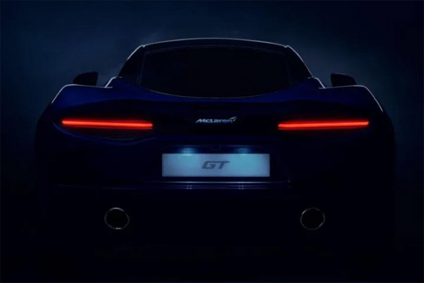 McLaren GT Teased Ahead Of 15 May Launch